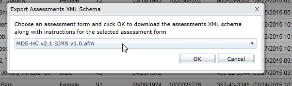 Select-assesssment-form